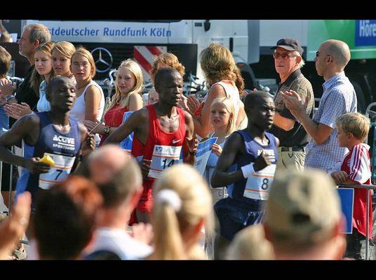 'Knackige Burschen' - Münster Marathon 2004