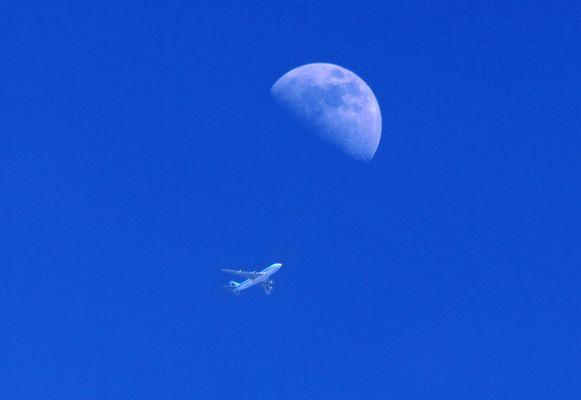Knapp am Mond vorbei...