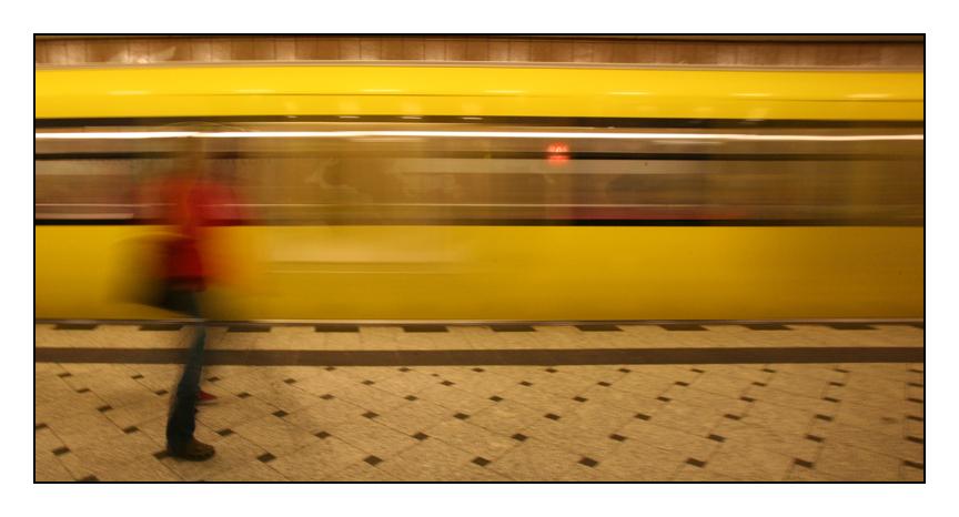 """Knapp verpasst"" Serie Metro 18"