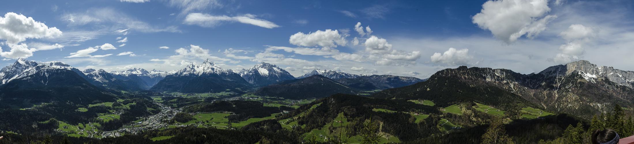 Kneifelspitze Panorama