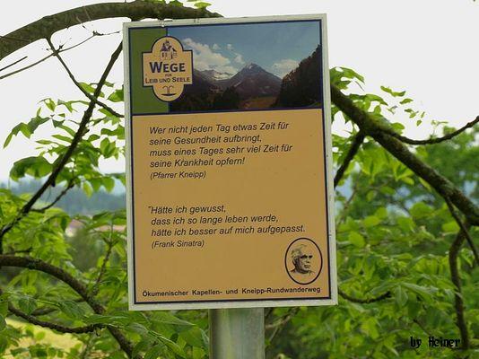 Kneipp-Weg bei Oberstdorf/Allgäu