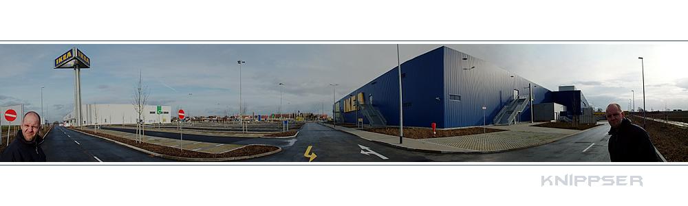 Knippser bei IKEA