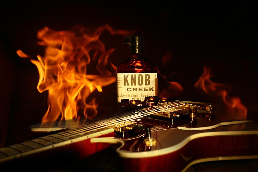 Knob Creek Guitar Fire
