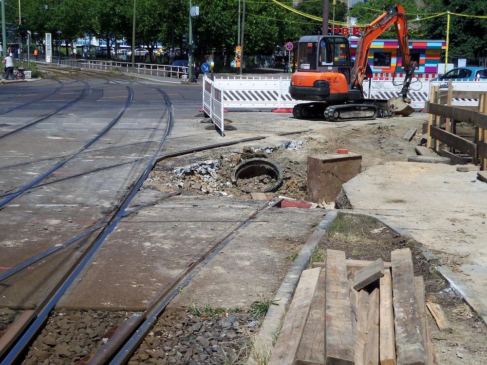 Knoten Roederplatz Bauarbeiten Bild 3