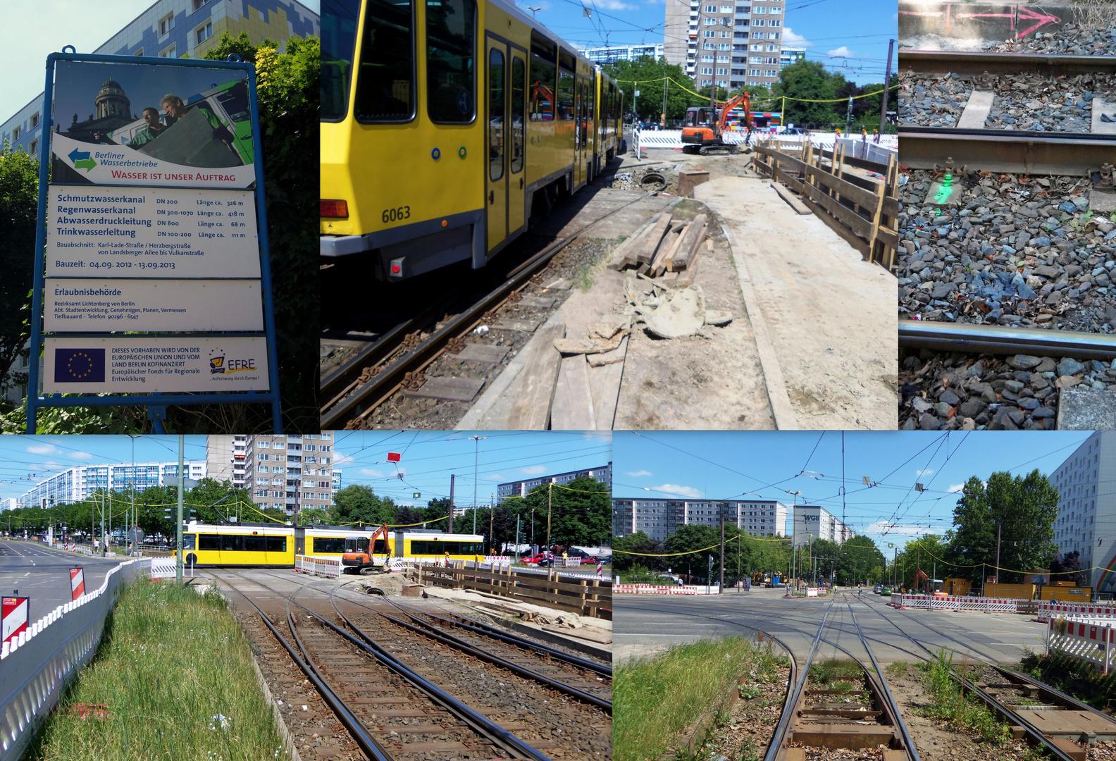 Knoten Roederplatz Bauarbeiten Bild 4