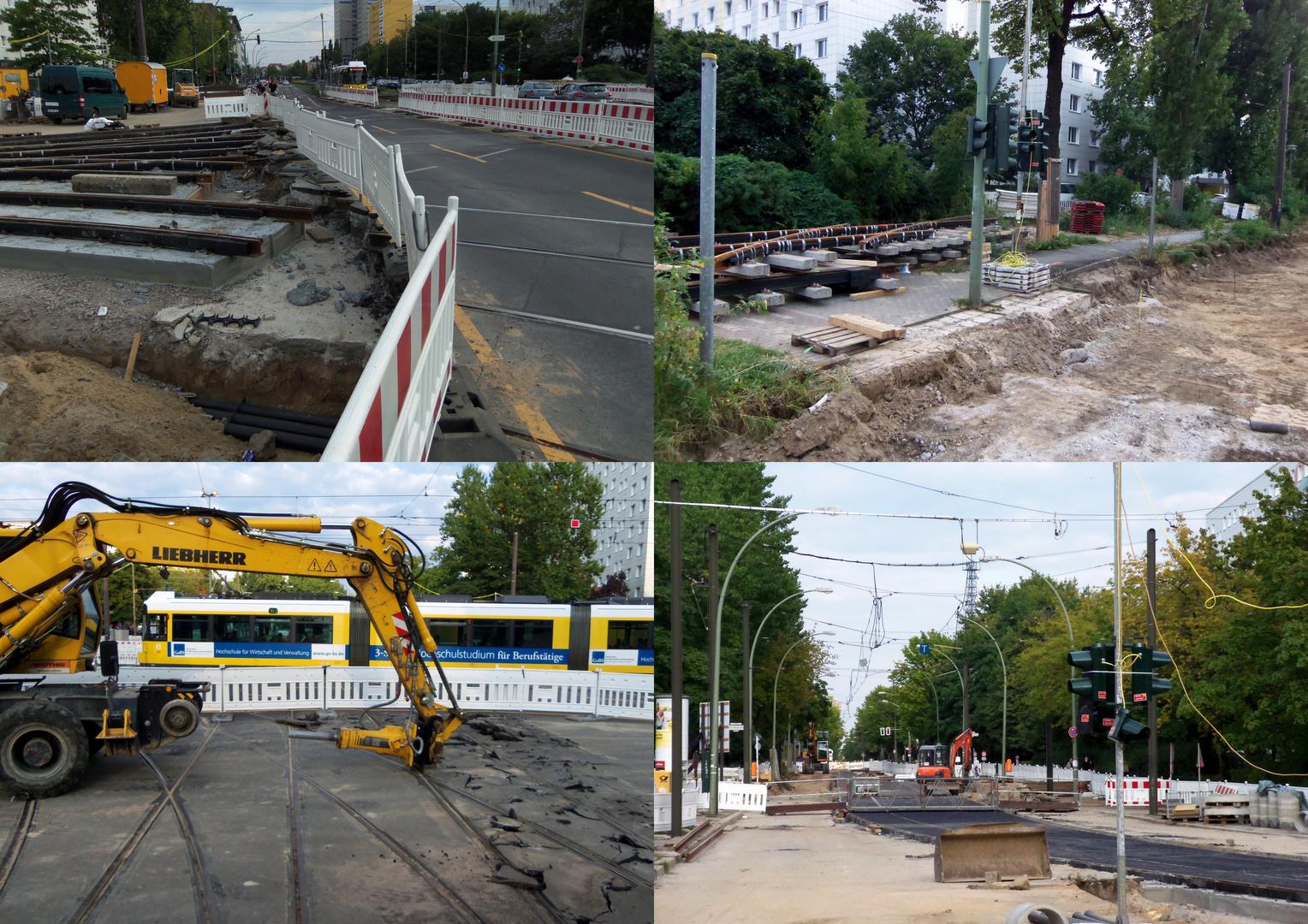 Knoten Roederplatz Bauarbeiten Bild 6