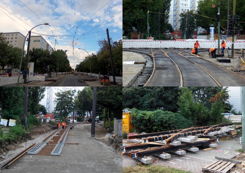 Knoten Roederplatz Bauarbeiten Bild 7