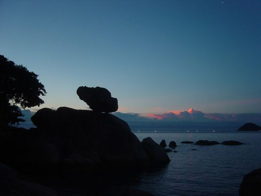 ko tao island darkness