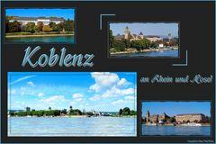 Koblenz an Rhein und Mosel