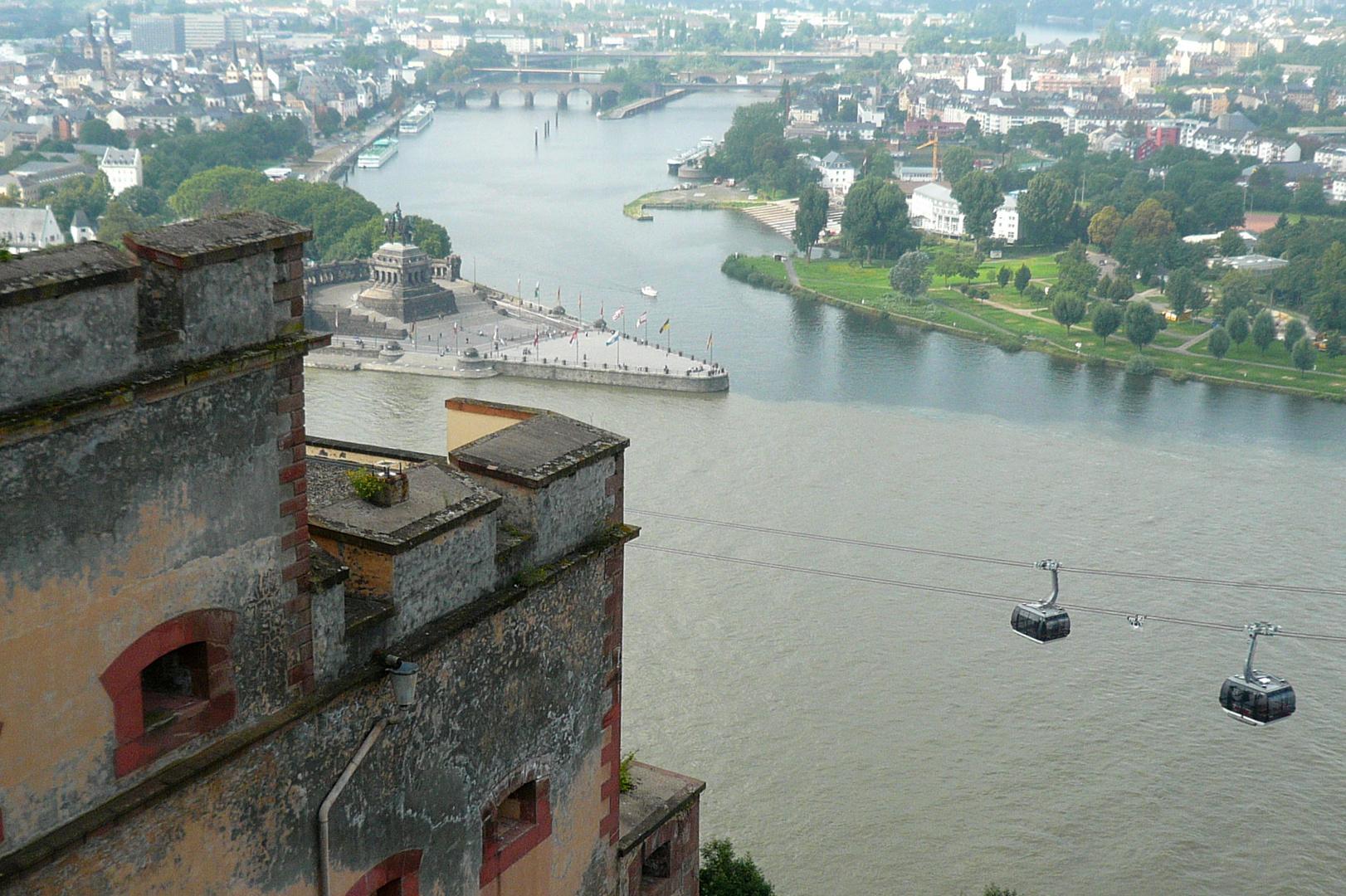 Koblenz - BUGA-Seilbahn
