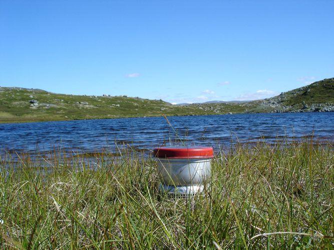 Kochen in der Hardangervidda