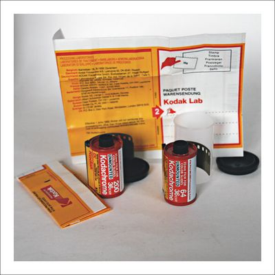 Kodachrome 64 & Kodachrome 200