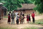 Kodachrome Dia von 1995 Nairobi Windhoek auf dem Landweg