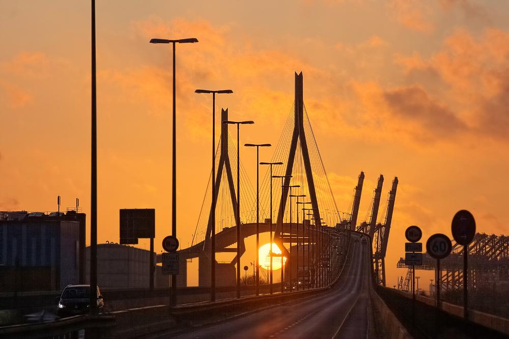 Köhlbrandbrücke...