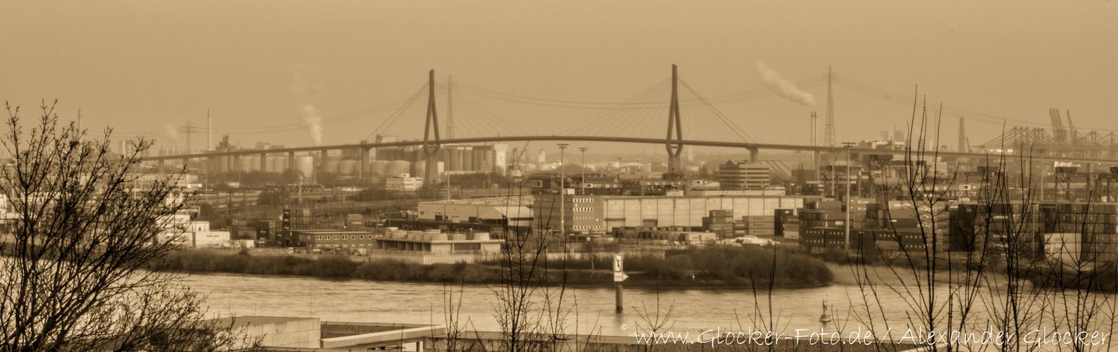 Köhlbrandbrücke. Vor unserer Zeit :)