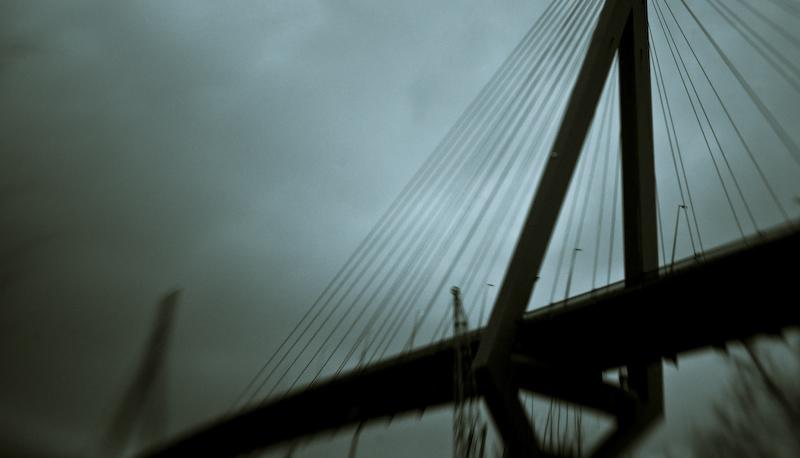 Köhlbrandtbrücke Orkantief Emma IV