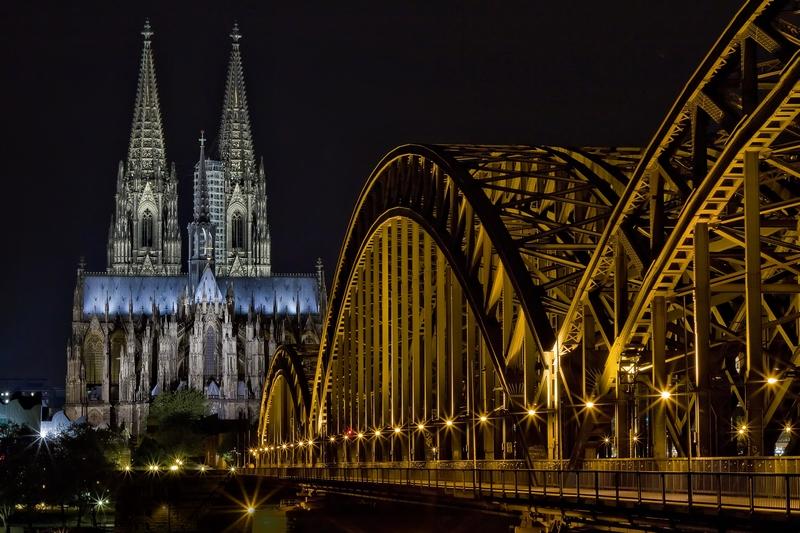 Kölle - derDom und Hohenzollernbrücke