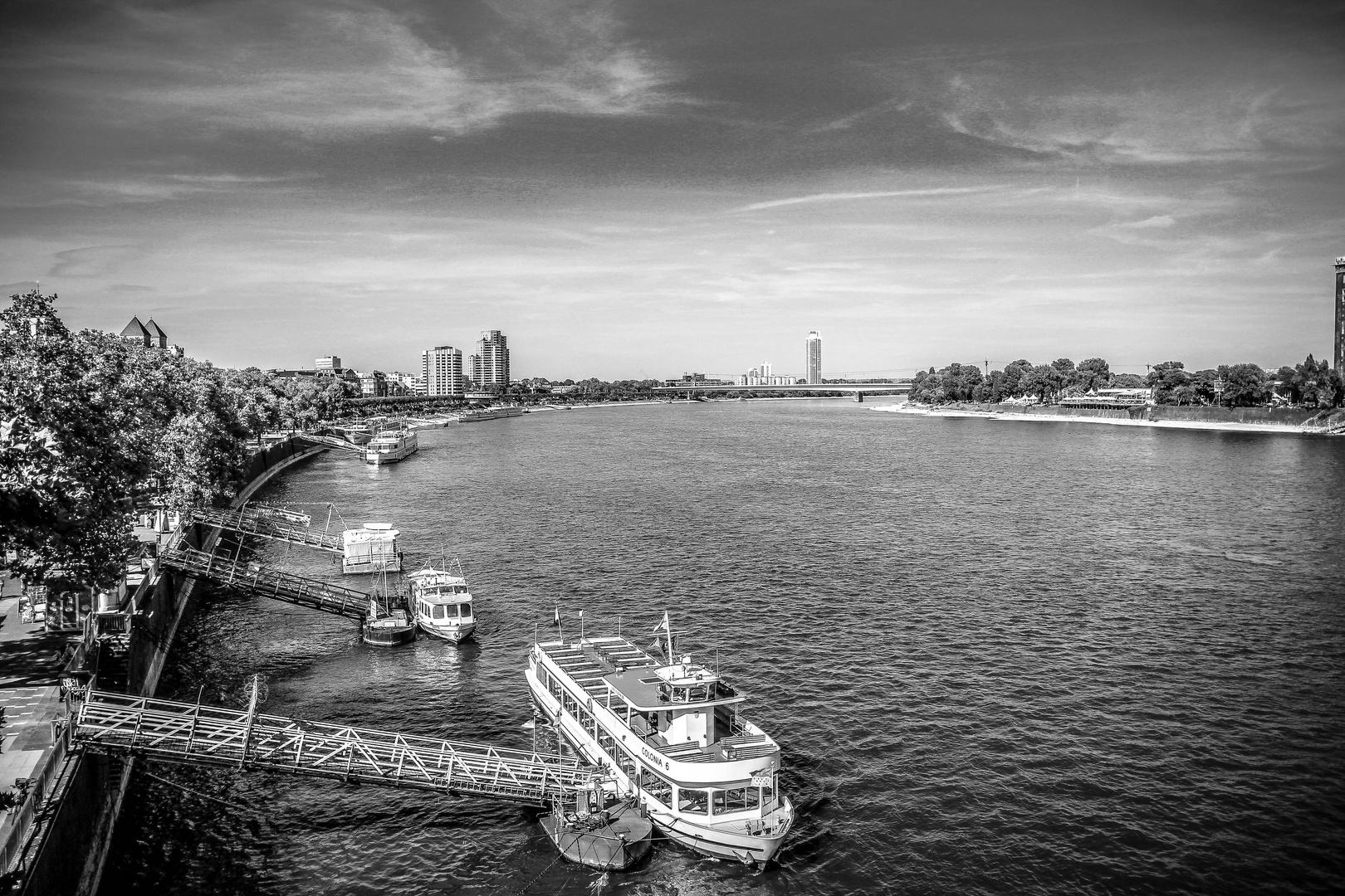 Köln 2012 Rhein