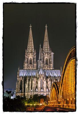 Köln 2015; Dom bei Nacht