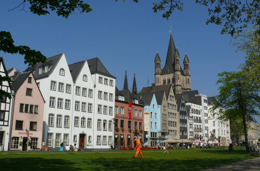 Köln - Altstadtviertel