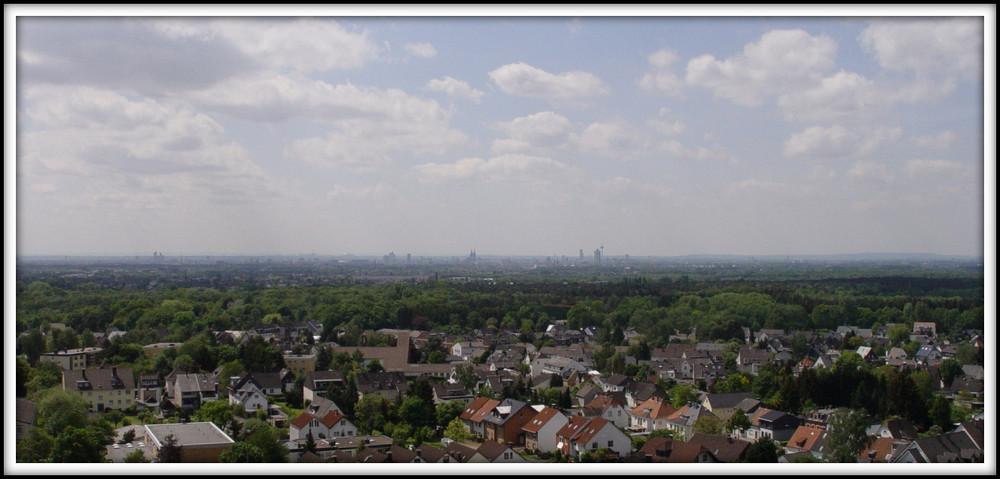 Köln aus der Ferne...