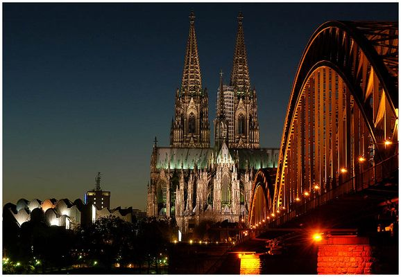 Köln, aus einer total unbekannten Perspektive...:-)