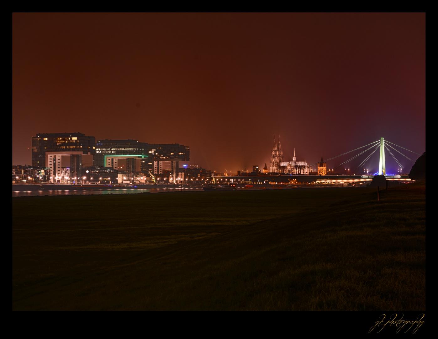 Köln bei Nacht - 3