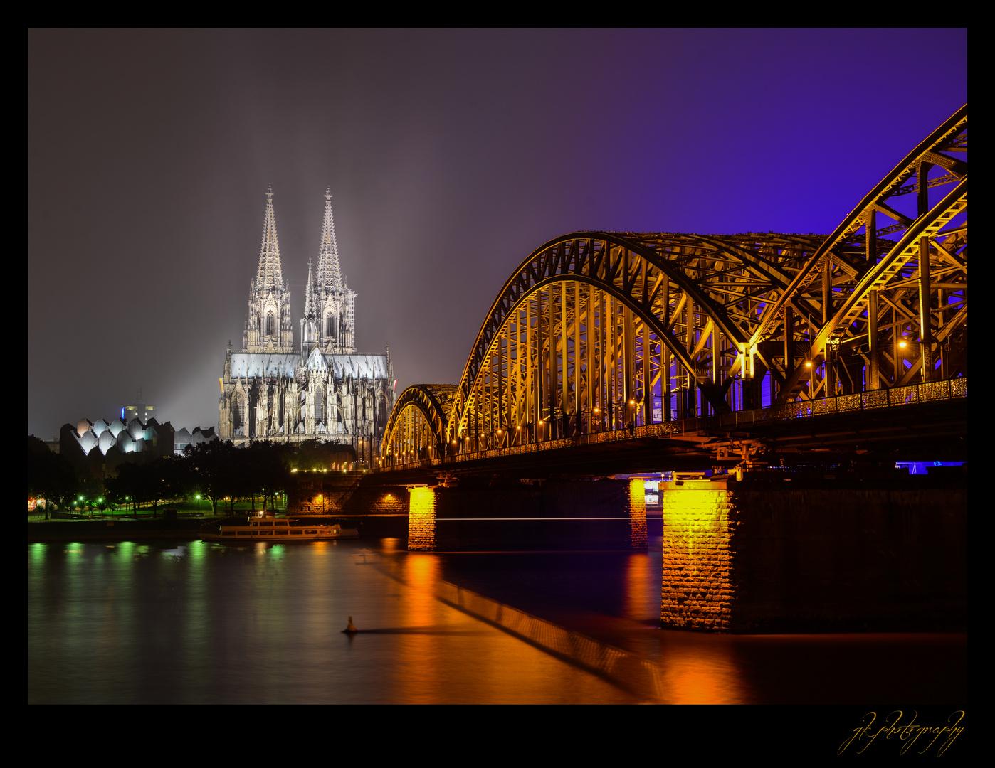 Köln bei Nacht - 4