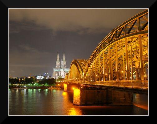 Köln bei Nacht...