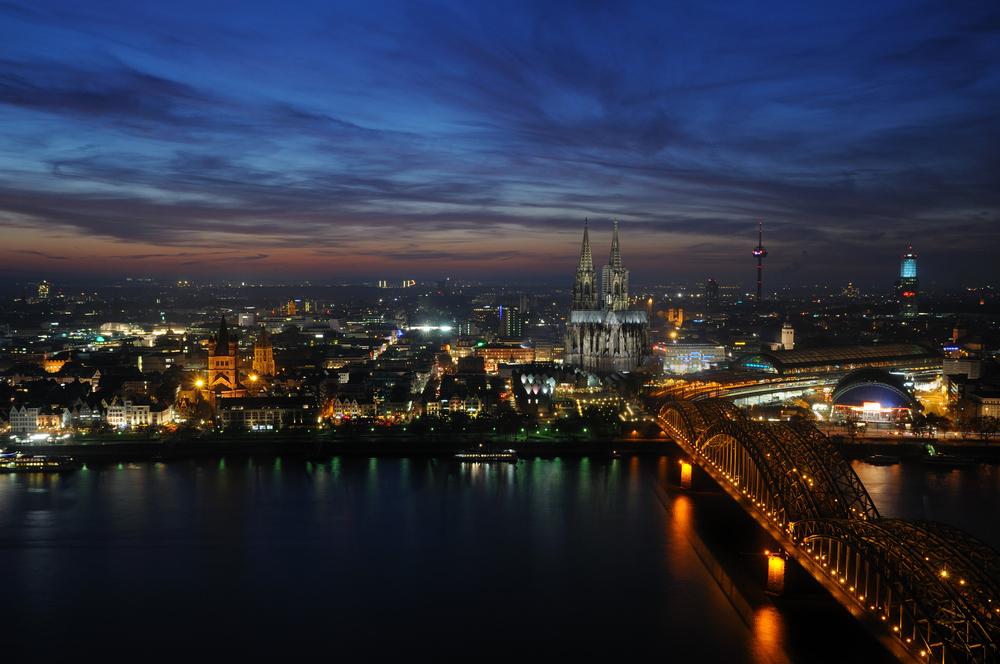 Köln bei Nacht IV