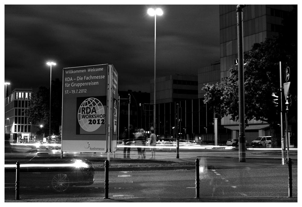 Köln Deutz bei Nacht....