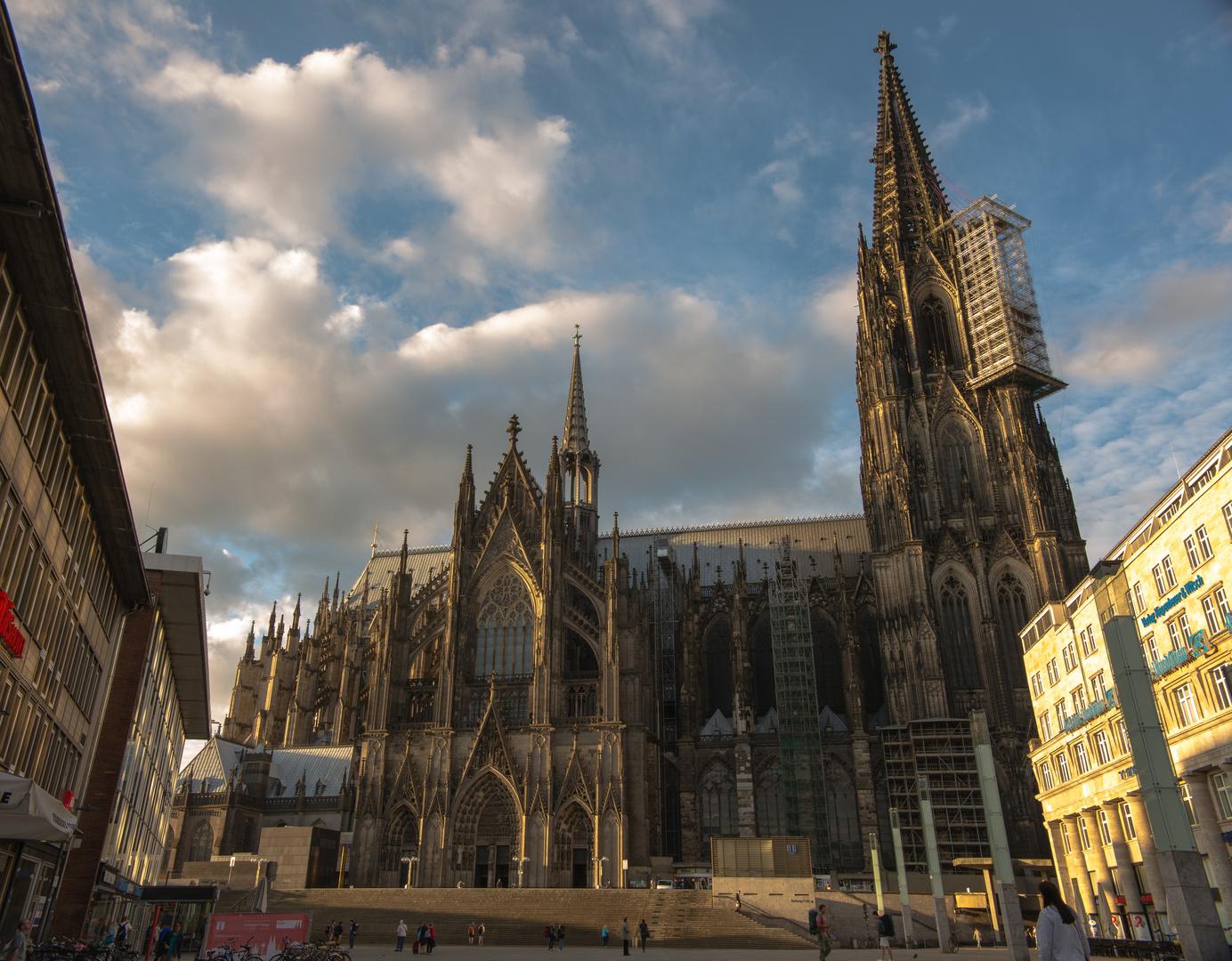 Köln Dom Blick von Osten