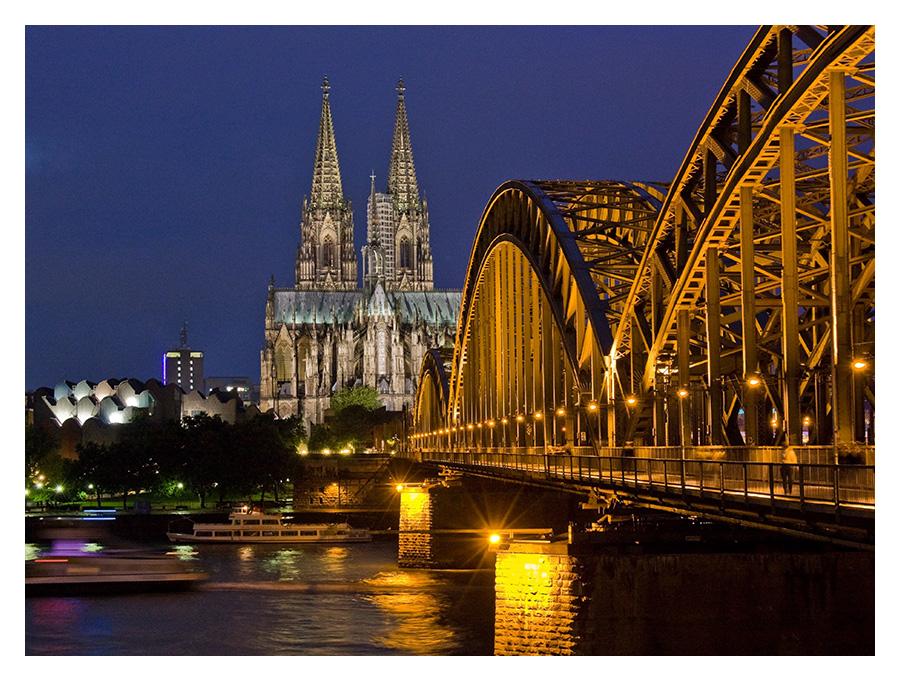 Köln: Dom und Brücke
