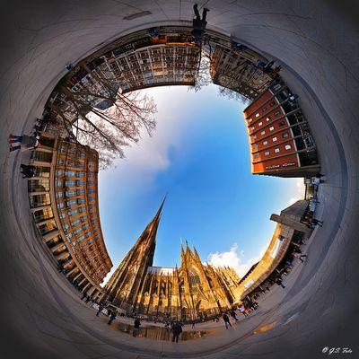Köln Domplatte