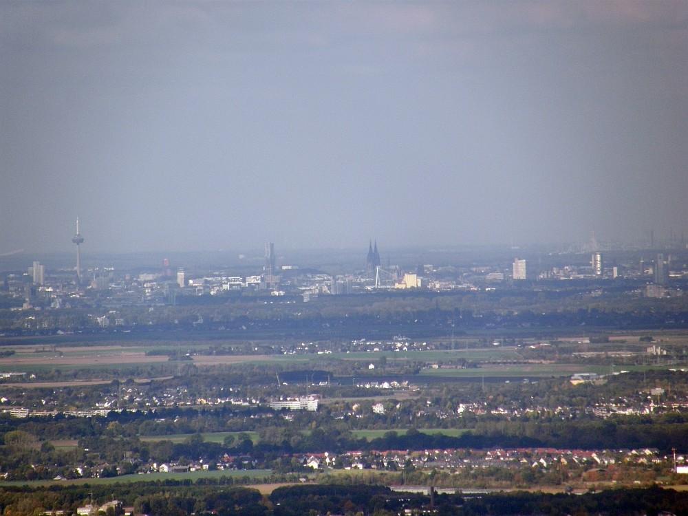Köln gesehen vom Ölberg 462m