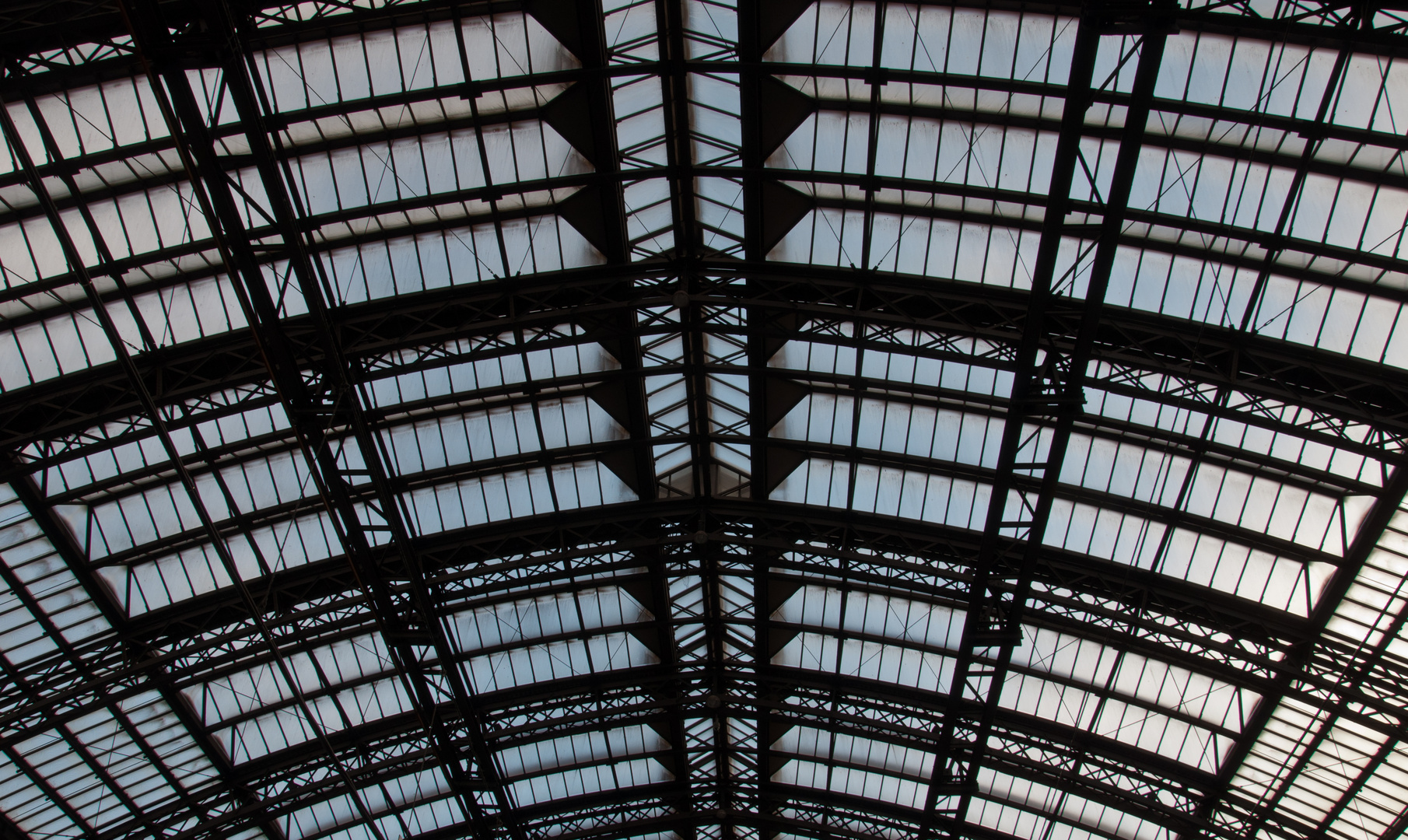 Köln Hauptbahnhof (III): Dachkonstruktion