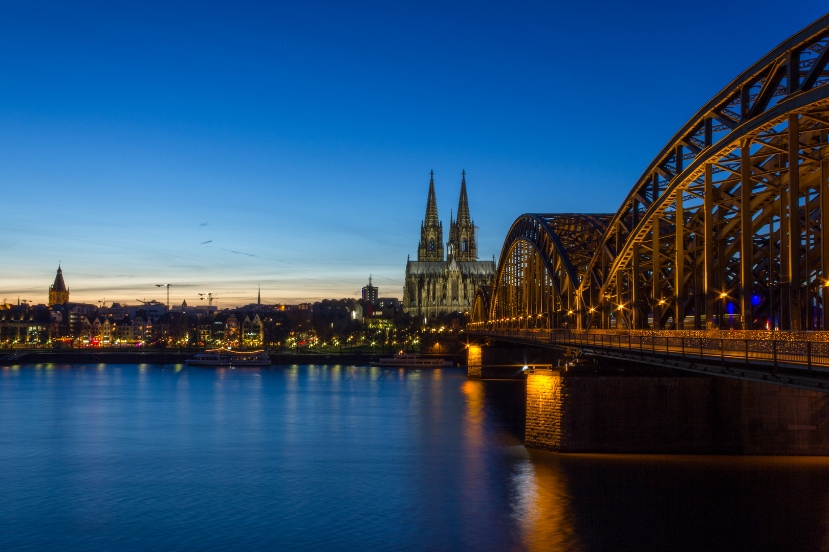 Köln - Hohenzollern Love Bridge