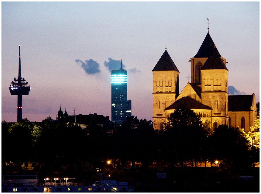 Köln mal OHNE den Dom