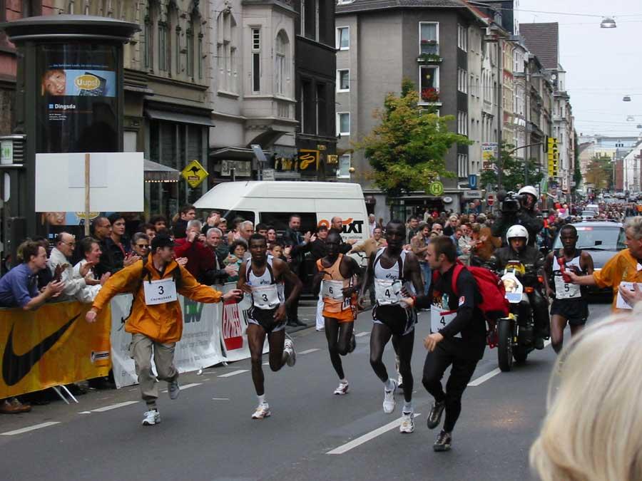 Köln Marathon 2001