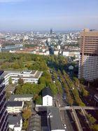 Köln mit seinem Dom - Blick aus dem Uni-Center - November 2009