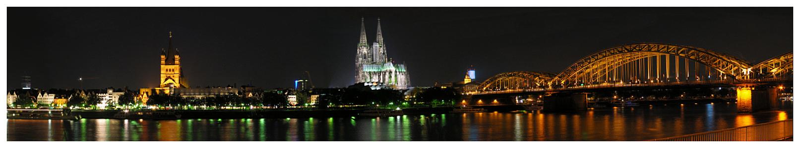 Köln - Rheinpanorama