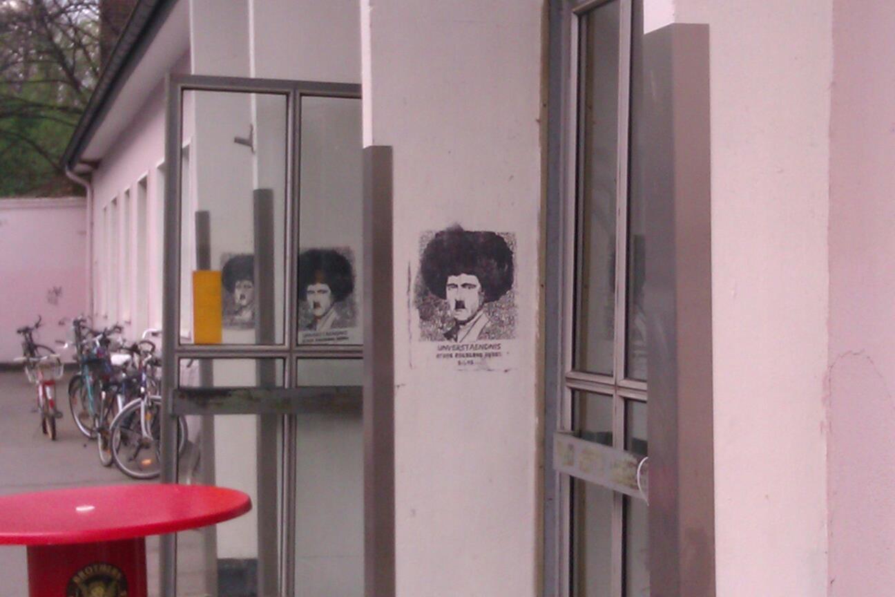 Köln Streetart Afrohitler