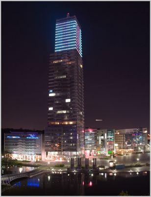 Köln Turm bei Nacht