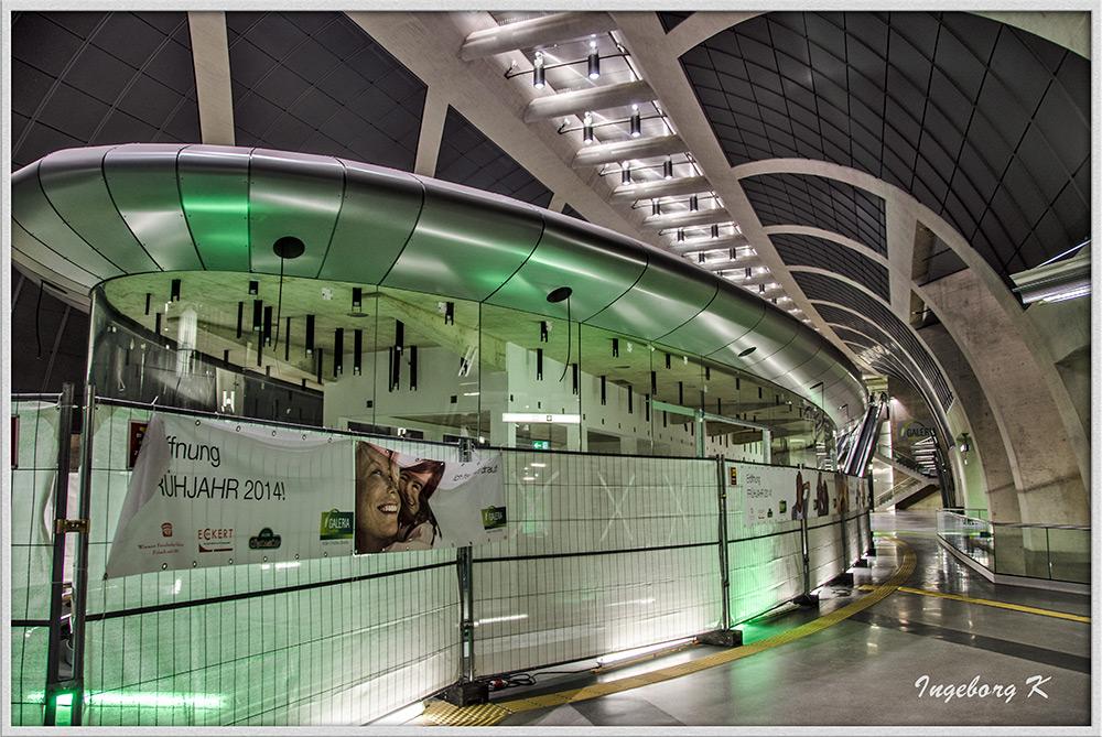 Köln - U-Bahn am Heumarkt - Station unten
