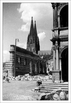 Köln um 1950 - Rathausplatz