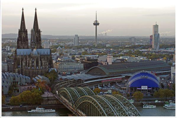 Köln von Oben (Testbild)