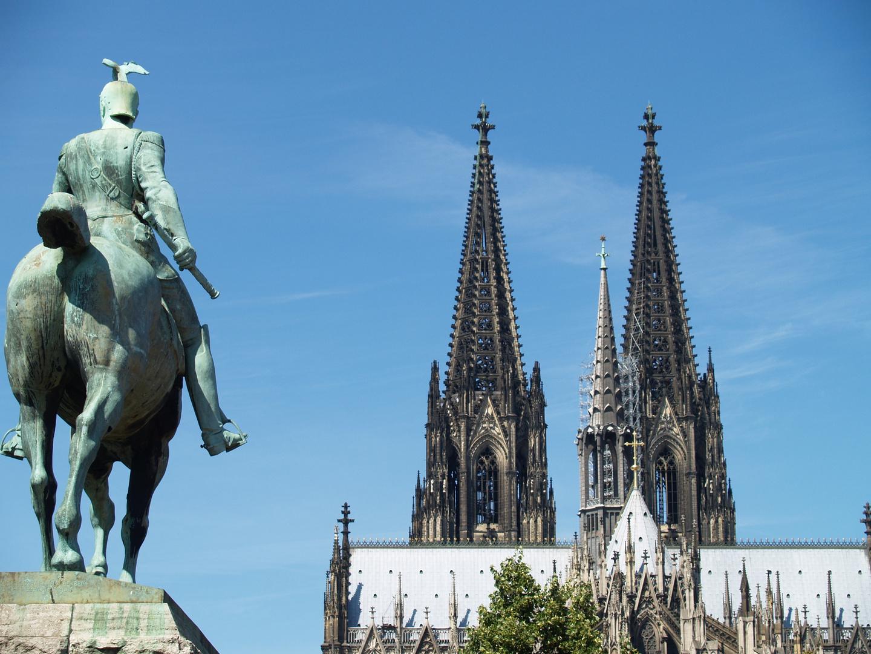 Köln,Blick auf den Dom