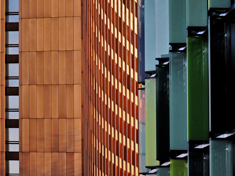 Kölner Architektur, gedrängt
