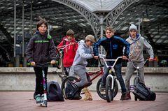 Kölner Biker-Boys