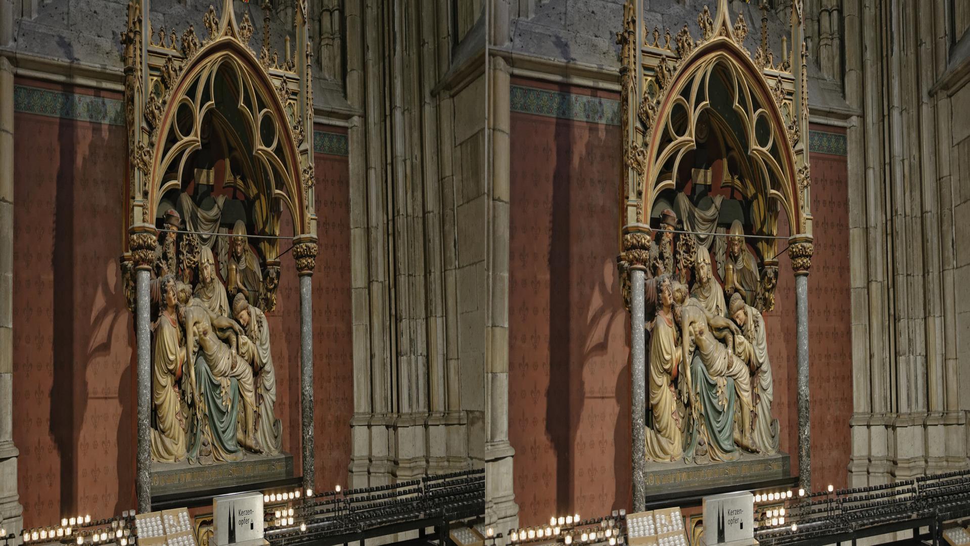Kölner Dom (3) 3D parallel